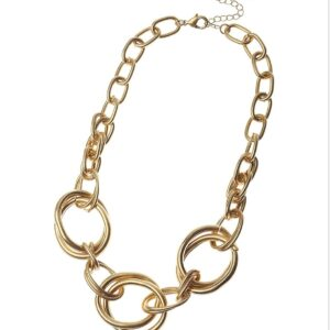 Chain and Loops Necklace