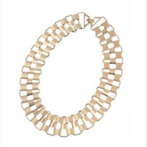 Chunky Matt Choker Necklace